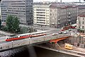044R23230978 Urania, Blick Richtung Aspernbrücke, Strassenbahn, Typ E1 23.09.1978.jpg