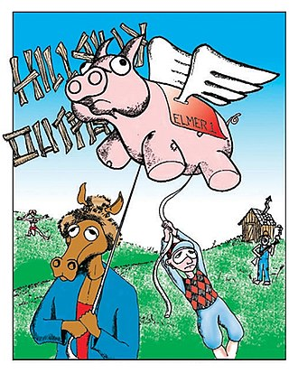Hillbilly Outfield: Kentucky Derby party - Image: 05art