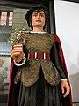066 La Casa dels Entremesos (Barcelona), els Gegants Petits de Sant Pere, Alfons els Franc.jpg