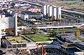 075R17181080 Donauturm, Blick vom Donauturm, Handelskai, UNO City, Bau der Reichsbrücke, Abfahrten, Ersatzbrücken, Kaisermühlen.jpg