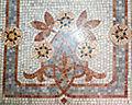 090 Casa Orlandai, escala noble, mosaic.JPG