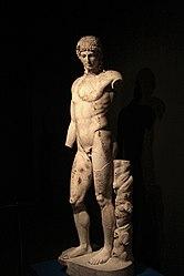 Apollo del Tevere, copia romana, Palazzo Massimo alle Terme