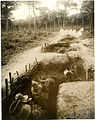 1-1 Gurkha bombing party practising bombing in a trench with live bombs (Photo 24-148).jpg