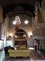 104 Castell de Santa Florentina (Canet de Mar), saló del tron.JPG