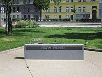 1170 S-45 Station Hernals - Park der Freiheit - Denkmal Verfolgung, Widerstand und Freiheitskampf von M. Anwander & R. Aubrecht 2015 IMG 4689.jpg