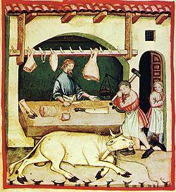 Boucher Tacuinum sanitatis Casanatensis (XIVesiècle)
