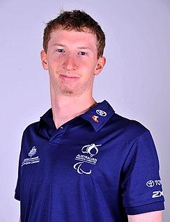 Richard Eliason Australian male swimming Paralympian