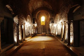 Grenoble Archaeological Museum - The crypt