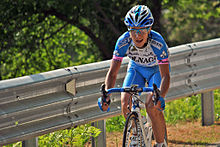 13 may 2012 giro d italia Domenico Pozzovivo.jpg