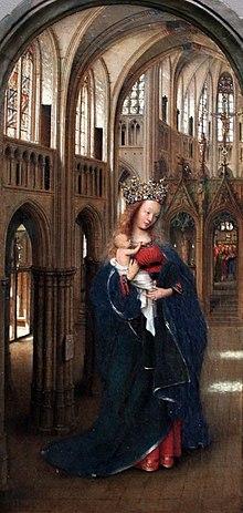 1440 van der Eyck Die Madonna in der Kirche anagoria.JPG