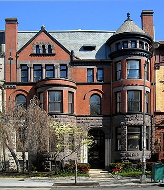 Carter Glass - Former residence of Carter Glass located in the Dupont Circle neighborhood of Washington, D.C.