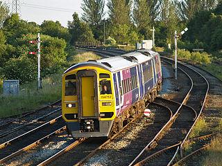 Calder Valley line Train line in West Yorkshire, England
