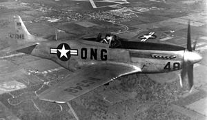 162d Reconnaissance Squadron - An 162nd FS F-51D Mustang (post-war)