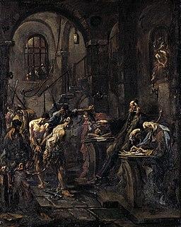 1728 Magnasco Peinliches Verhör anagoria