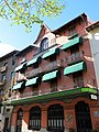 176 Hotel de Camprodon, antic hotel Rigat, pl. Doctor Robert.JPG