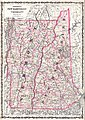 1861 Johnson Map of Vermont and New Hampshire - Geographicus - VTNH-j-62.jpg