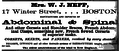 1873 Mrs Neft advert Winter Street BostonDirectory.png