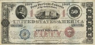 Consol (bond) - U.S. Government 4% Consol Bond