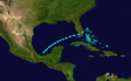 1895 Atlantic tropical storm 6 track.png