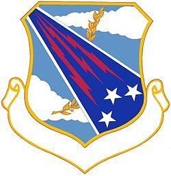 18th Strategic Aerospace Division crest