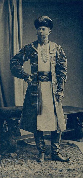 Tatischev family - Ilya Tatischev at the Imperial ball of 1903
