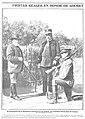 1905-11-02, Nuevo Mundo, El presidente de la República francesa en un puesto del cazadero de la Casa de Campo, Campúa.jpg