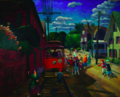 1917 Gloucester Trolley painting by John Sloan Canajoharie Library.png