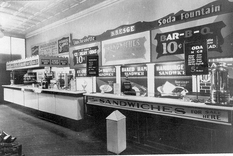 Soda Counter 1920s