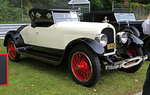 Marmon Motor Car Company - Late (1923) Marmon 34B 2-passenger speedster