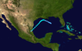 1936 Atlantic tropical storm 7 track.png
