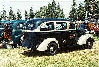 Chevrolet Suburban - 1937 Carryall Suburban (rear)
