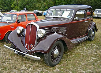 Fiat 518 - 1937 Simca-Fiat 11 CV