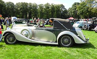 Alvis Speed 25 - Profile: drophead coupé by Charlesworth 1938