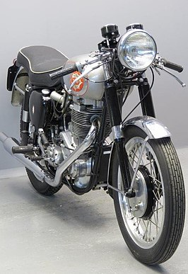 BSA DB32GS Gold Star uit 1956
