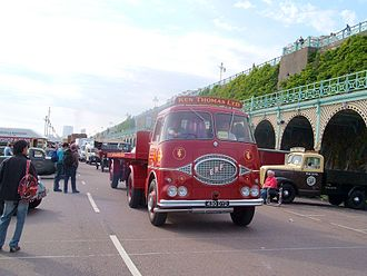 ERF (truck manufacturer) - Image: 1959 ERF type 6.4G reg 430 DYD