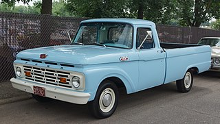 Ford F-Series (fourth generation) Motor vehicle