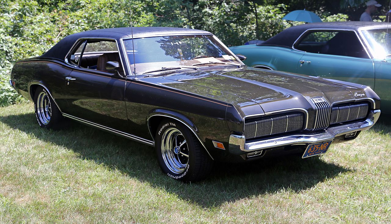 File 1970 Mercury Cougar 2dr Ht Brown Front Right Jpg