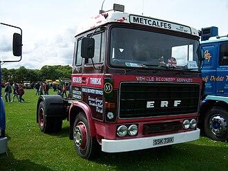 ERF (truck manufacturer) - Preserved B Series