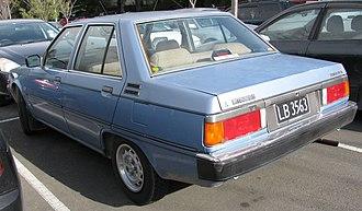 Mitsubishi Tredia - Image: 1983 Mitsubishi Tredia (5965390606)