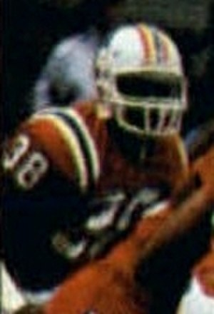 Roland James - James playing for the Patriots in Super Bowl XX