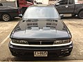 1989 Mitsubishi Galant (E-E33A) AMG Sedan (13-10-2017) 09.jpg