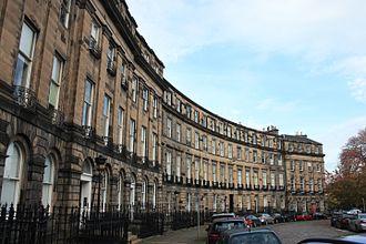 Edward Maitland, Lord Barcaple - Ainslie Place in Edinburgh