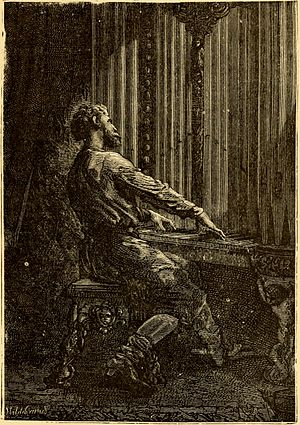 Captain Nemo - Captain Nemo playing the organ, at which he was a master.