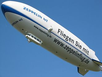 Zeppelin NT - Zeppelin NT D-LZZR at the airport in Friedrichshafen, 2003