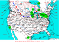 2004-01-21 Surface Weather Map NOAA.png