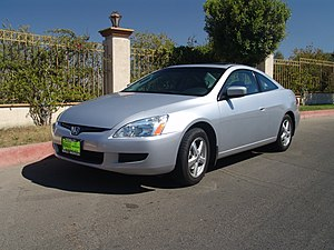 Honda Accord (North America seventh generation) - Image: 2004 accord coupe