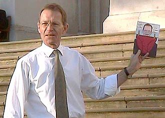 Sir Nicholas Serota Makes an Acquisitions Decision - Sir Nicholas Serota holds up a postcard of the painting in 2006.
