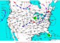 2007-08-15 Surface Weather Map NOAA.png
