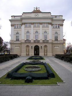 בניין הספרייה האוניברסיטאית לשעבר הנמצא בקמפוס הראשי של האוניברסיטה