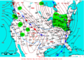 2008-01-30 Surface Weather Map NOAA.png